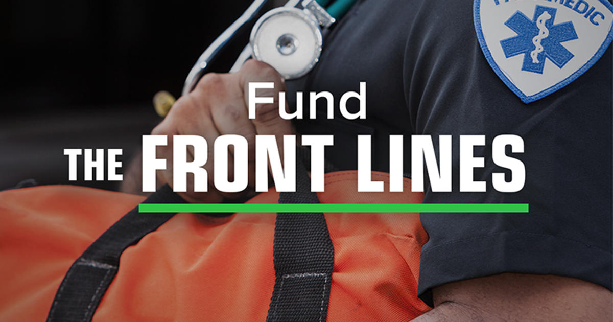Tell Congress: Fund the Front Lines